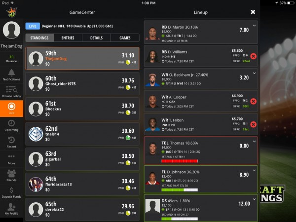 draftkings-ipad